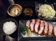 とんかつ小ばやしのロースカツ!大阪梅田の茶屋町で至福のランチ