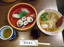 鳴門寿司は難波にある老舗店!ごぶごぶでも紹介された中華そば!